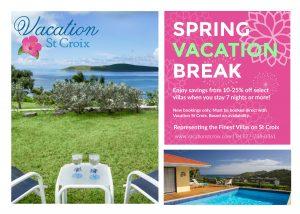 Spring Break Vacation Rental St Croix